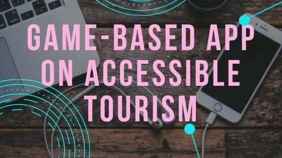 Game-based APP on accessible tourism section